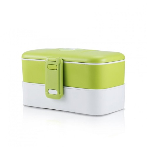 Remax Fashionable Lunch Box Two Layers with Cutlery RT-BT01 - Green