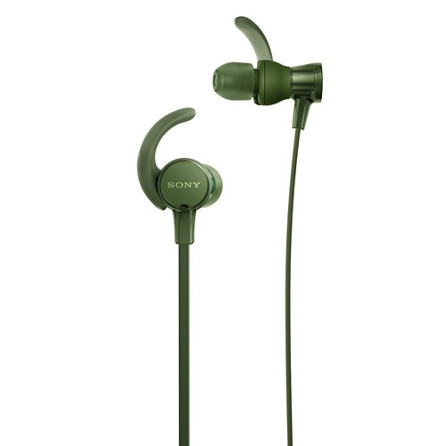 Sony Extra Bass Sports In-ear Headphones MDR-XB510AS - Green