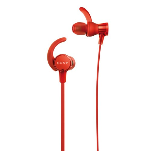 Sony Extra Bass Sports In-ear Headphones MDR-XB510AS - Red