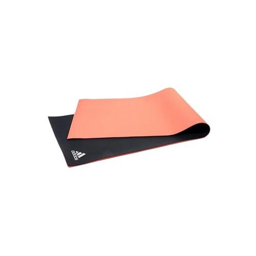 Adidas 6mm Dbl Side Yoga Mat - Fl Red/Dark Grey
