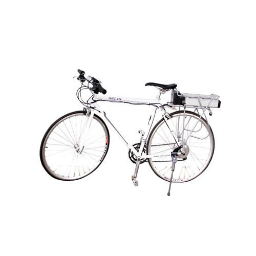 Selis Sepeda listrik type Alpine Carrier - Putih