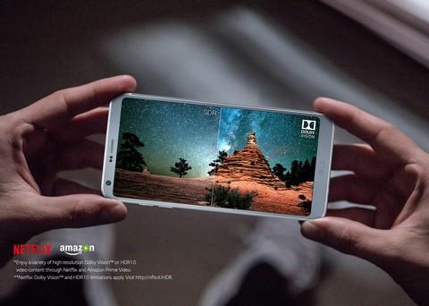 LG G6 - Ice Platinum