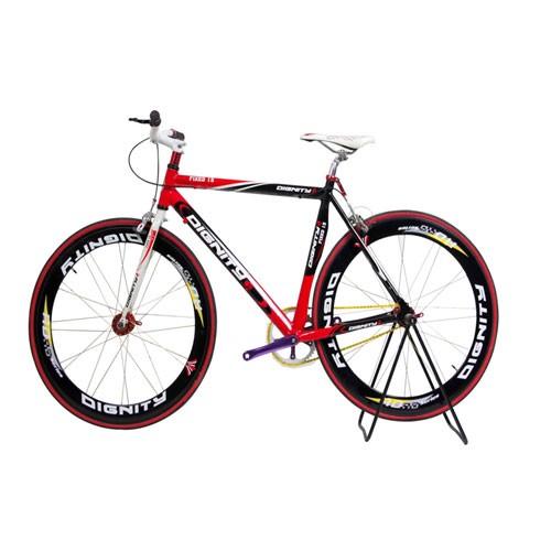 Selis Sepeda dignity type Fixie alloy - Hitam/Merah