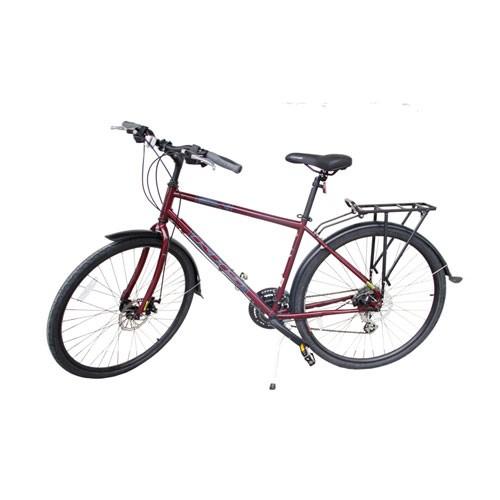 Selis Sepeda KHS type Urban x - Merah maroon
