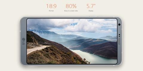 LG G6 - Rose Gold