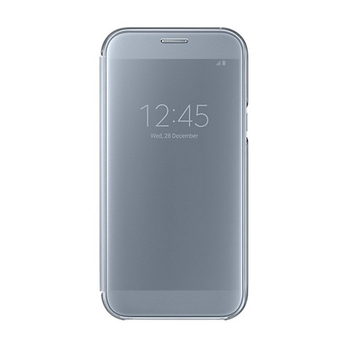 Samsung Clear View Cover For Galaxy A7 (2017) - Blue