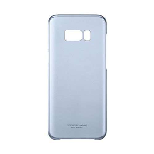Samsung Clear Cover For Galaxy S8 - Blue