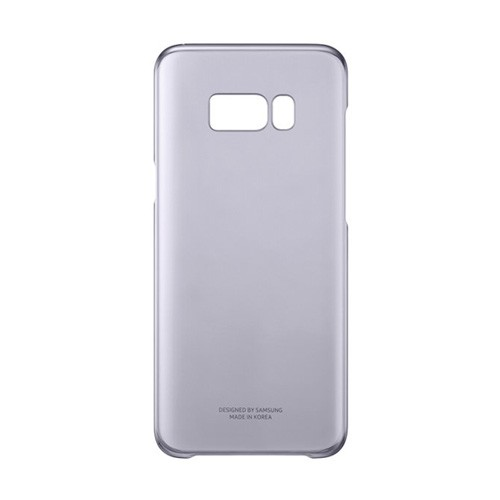 Samsung Clear Cover For Galaxy S8 - Violet