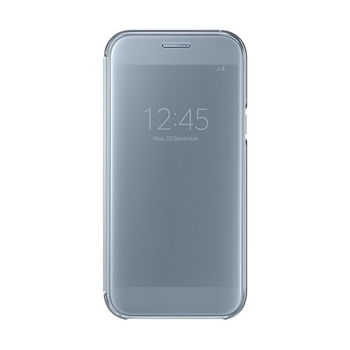 Samsung Clear View Cover For Galaxy A5 (2017) - Blue