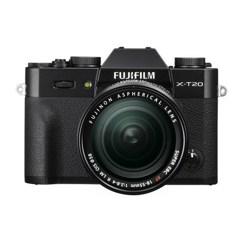 Fujifilm Mirrorless Digital Camera X-T20 KIT 18-55mm - Black