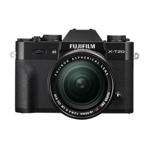 Fujifilm Mirrorless Digital Camera X-T20 KIT 18-55mm - Black