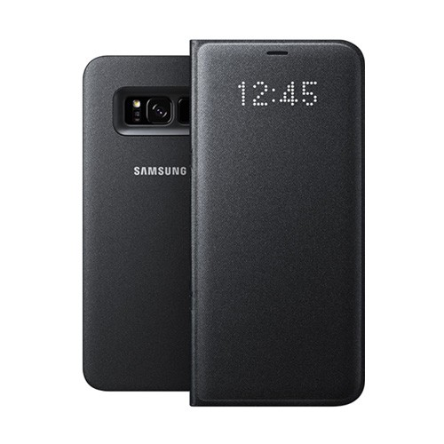 Samsung LED View Cover For Galaxy S8 - Black