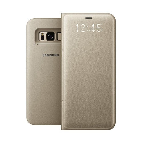 Samsung LED View Cover For Galaxy S8 - Gold