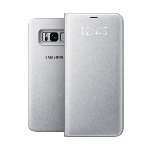 Samsung LED View Cover For Galaxy S8 - Silver