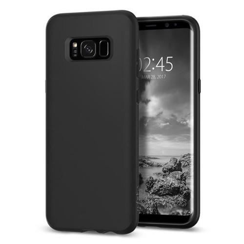 Spigen Liquid Crystal for Galaxy S8+ - Matte Black