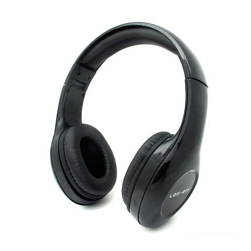 Log On InTone Stereo Headphones LO-NB-680 - Black