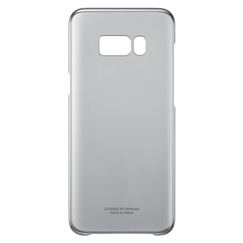 Samsung Clear Cover For Galaxy S8 Plus - Black