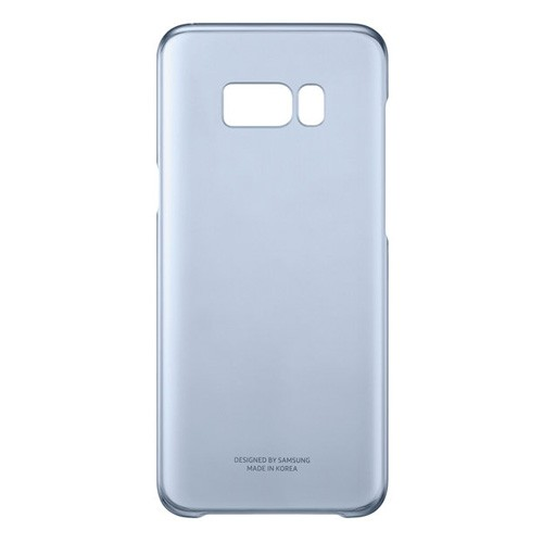 Samsung Clear Cover For Galaxy S8 Plus - Blue