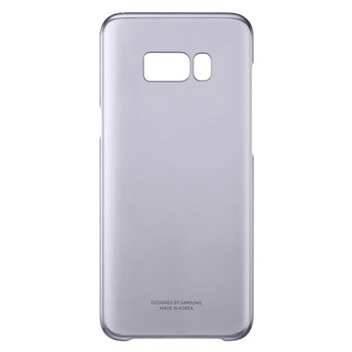 Samsung Clear Cover For Galaxy S8 Plus - Violet