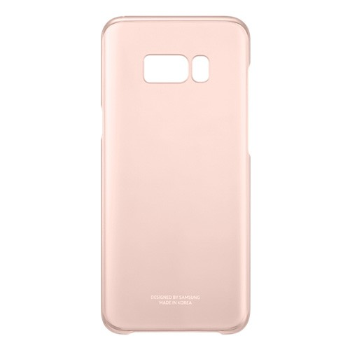 Samsung Clear Cover For Galaxy S8 Plus - Pink