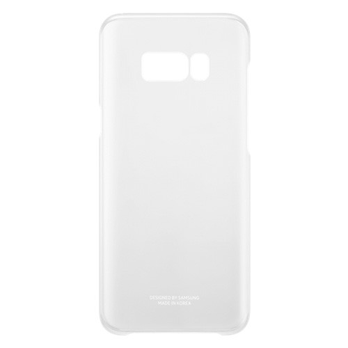 Samsung Clear Cover For Galaxy S8 Plus - Silver