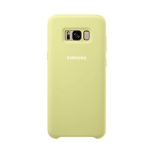 Samsung Silicone Cover For Galaxy S8 - Green