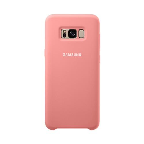 Samsung Silicone Cover For Galaxy S8 - Pink