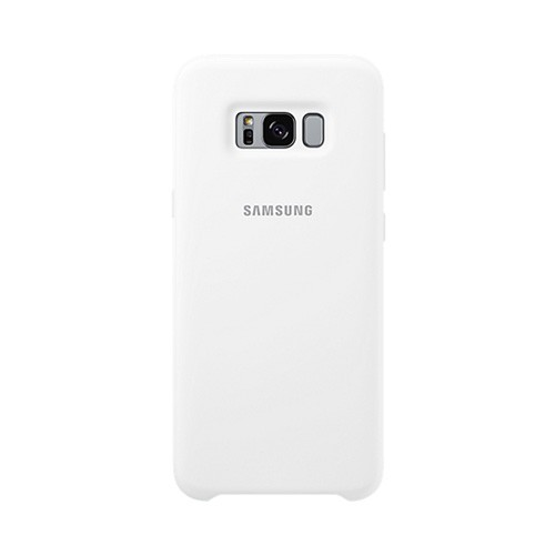 Samsung Silicone Cover For Galaxy S8 - White