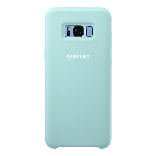 Samsung Silicone Cover For Galaxy S8 Plus - Blue