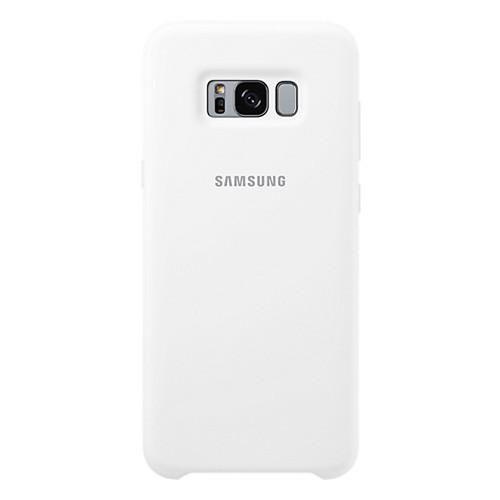 Samsung Silicone Cover For Galaxy S8 Plus - White