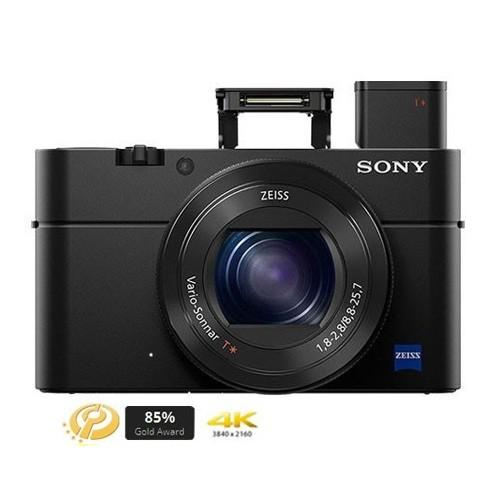 Sony Cyber-shot Camera RX100 Mark IV - Black
