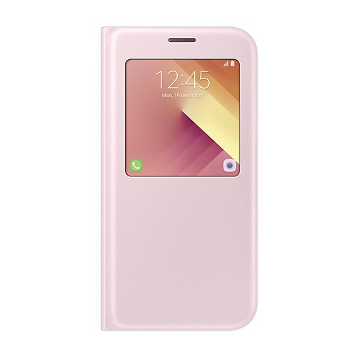 Samsung S View Standing Cover For Galaxy A7 (2017) - Pink
