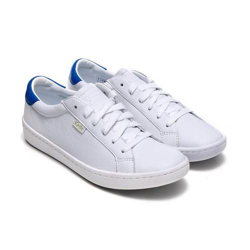 KEDZ ACE LEATHER WHITE/BLUE (WH56892)