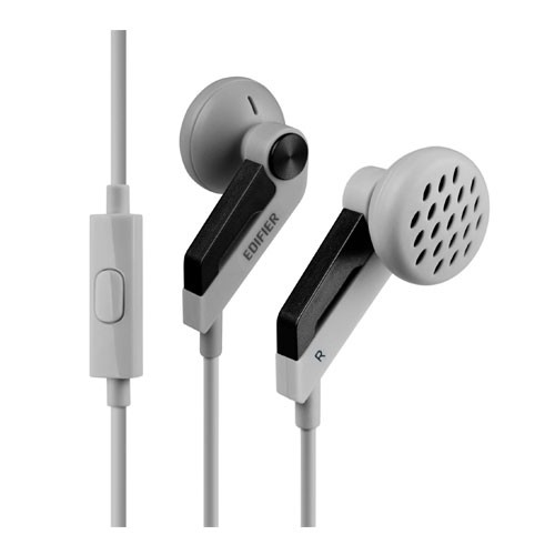 Edifier Earphone with Mic P186 - Dark Grey