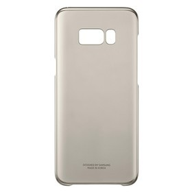 Samsung Clear Cover For Galaxy S8 Plus - Gold