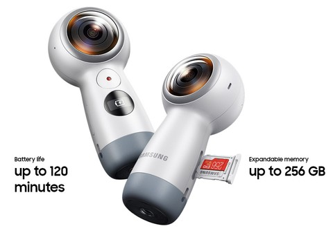 Samsung Gear 360 4K Camera (2017 Edition)