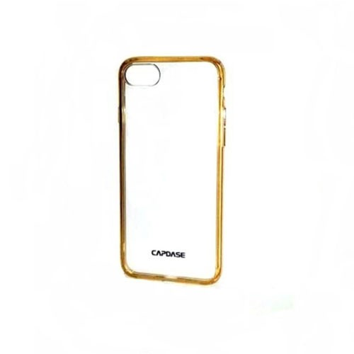 Capdase Case for iPhone 7 SJIH7-5FCC- Clear Gold