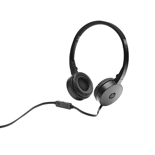 HP H2800 Headphone J8F10AA - Black