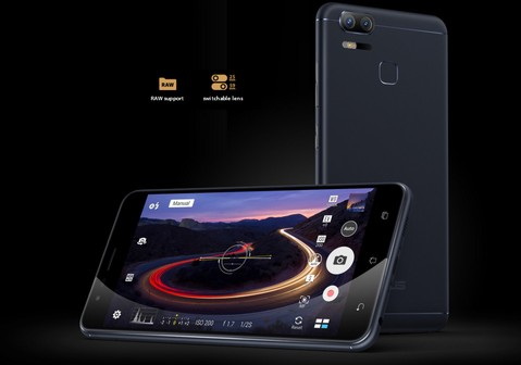 Asus Zenfone Zoom S ZE553KL - Silver