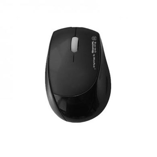 MicroPack Mouse Rectractable Blue-Tech BT-Y2075R - Black