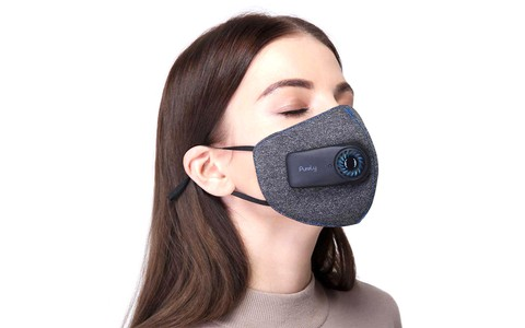 Purely Air Mask Pollution with 550mAh Rechargeable Batteries KN95