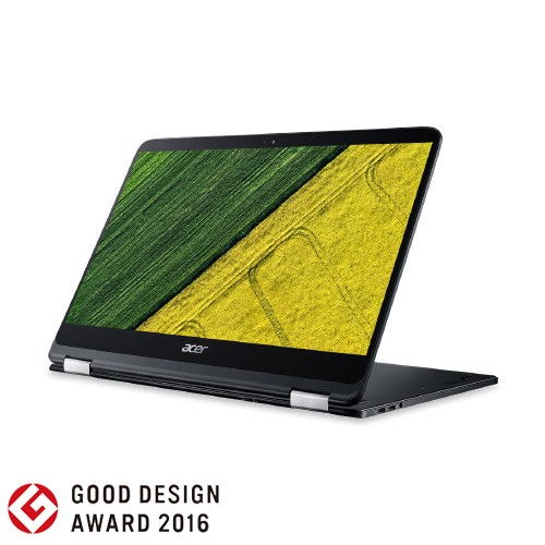 Acer Notebook Spin 7 (SP714-51) Ci7-7Y75 NX.GKPSN.001 - Black