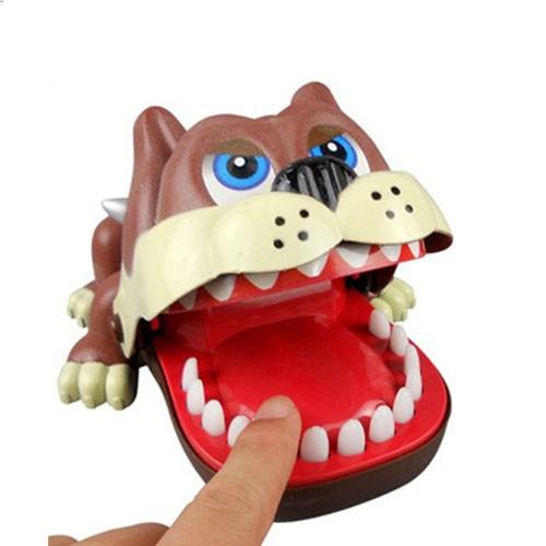 Luck Dog Bulldog Dentist Game Toys (Mainan Gigi Bulldog)
