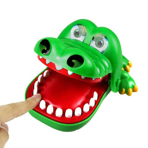 Crazy Crocodile Dentist Toys (Mainan Gigi Buaya)