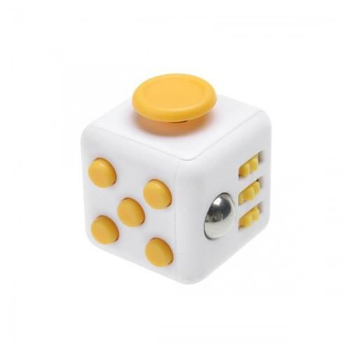Fidget Cube - White Yellow