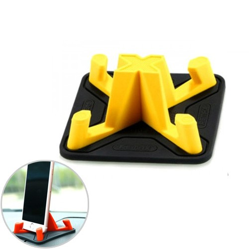 Remax Pyramid Eco-Friendly Smartphone Holder RM-C25 - Yellow
