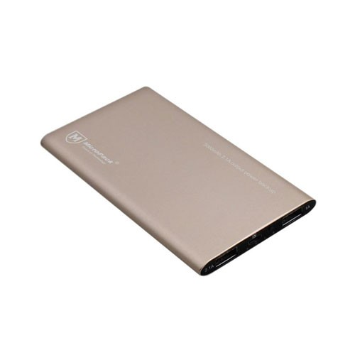 MicroPack Power Bank PB-5000 - Gold