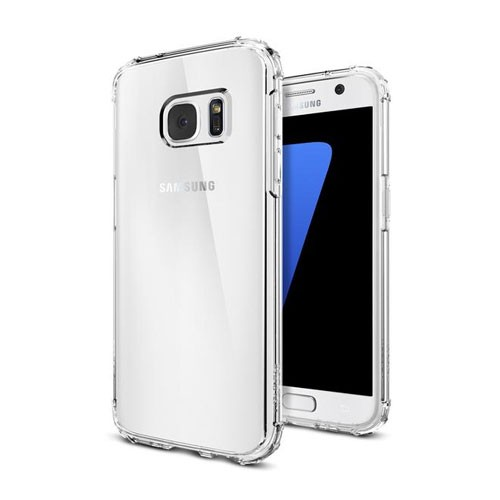 Spigen Crystal Shell Case for Galaxy S7 - Clear Crystal