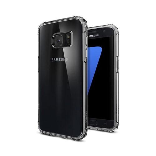 Spigen Crystal Shell Case for Galaxy S7 - Dark Crystal