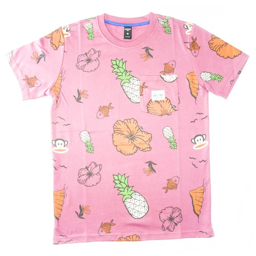 PAUL FRANK APPS16M MAR POCKET TEE CASHMERE